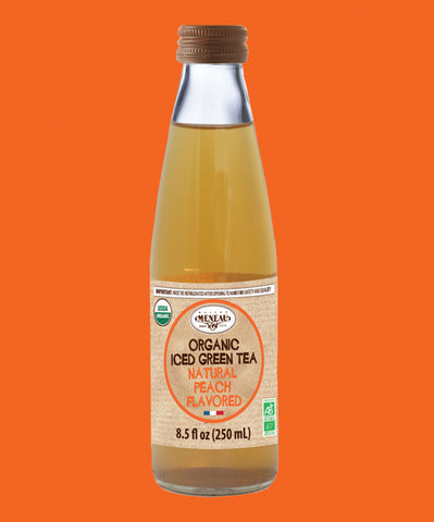 Meneau Organic Iced Green Tea with Peach - Meneau