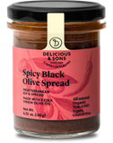 Organic Spicy Black Olive Spread - Delicious & Sons