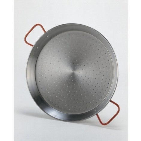 Polished Steel Paella Pan - Medineterranean