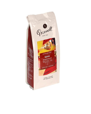 Granell Mediterranean Blend Siesta Decaffeinated Coffee Beans 01