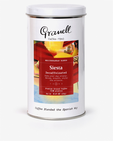 Granell Mediterranean Blend Siesta Ground Coffee