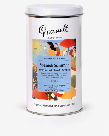 Granell Mediterranean Blend Spanish Summer Ground Coffee