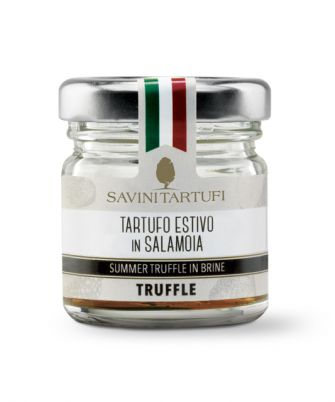 Savini Tartufi Whole Black Summer Truffle in Brine - Savini Tartufi