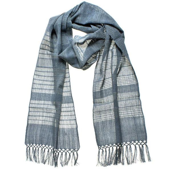 Introducing Our New Recycled Denim Scarf