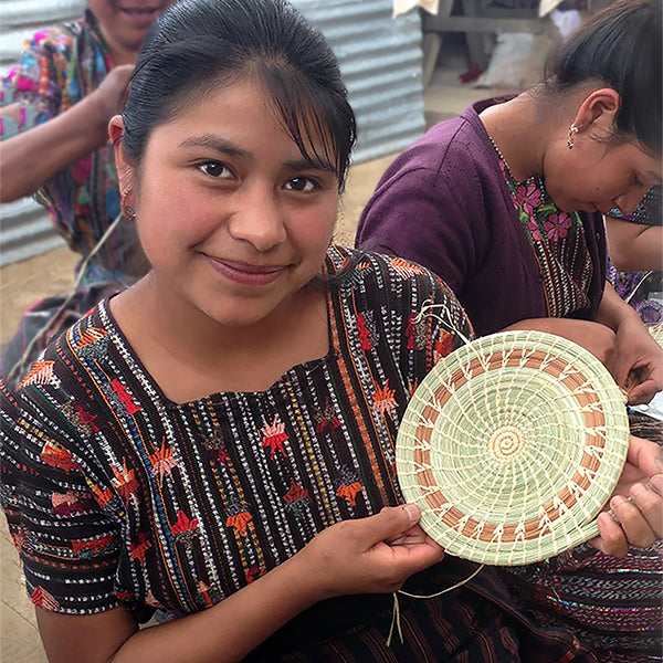 Basket Maker Cecilia | Mayan Hands