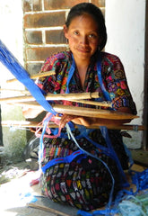 Weaving Plastic on the Backstrap Loom
