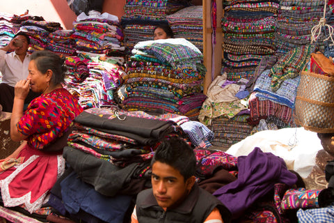 huipiles for sale in Chichicastenango