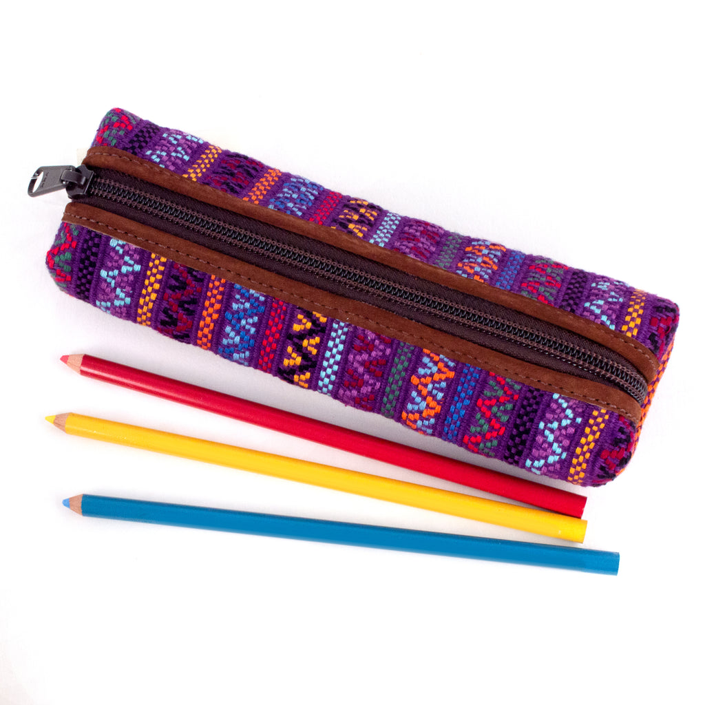 Santiago Brocade Pencil Case