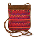 handwoven santiago bag red multicolor | Mayan Hands