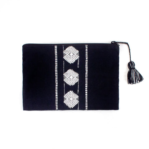 Rabinal Bag with Black Leather