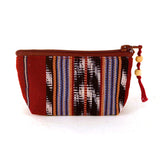 handwoven ikat coin purse | Mayan Hands