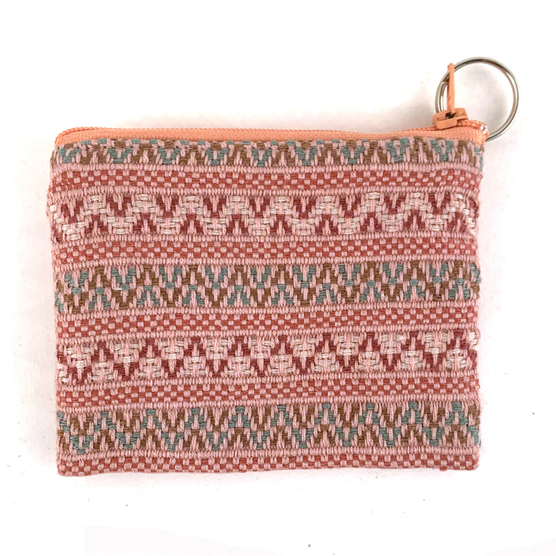 Santiago Brocade Pouch with Keyring