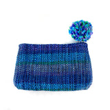 Recycled Plastic Coin Purse - blue | Mayan Hands