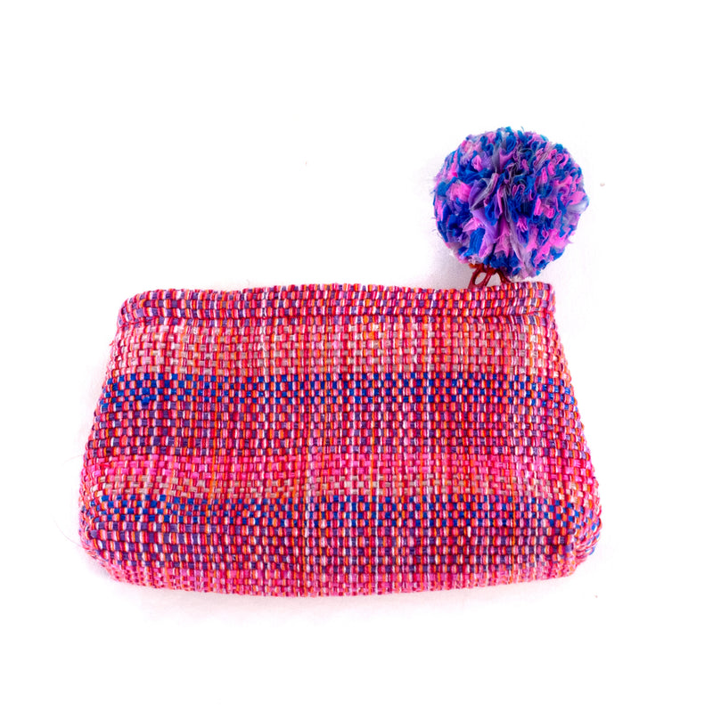 Recycled Plastic Coin Purse - pink | Mayan Hands