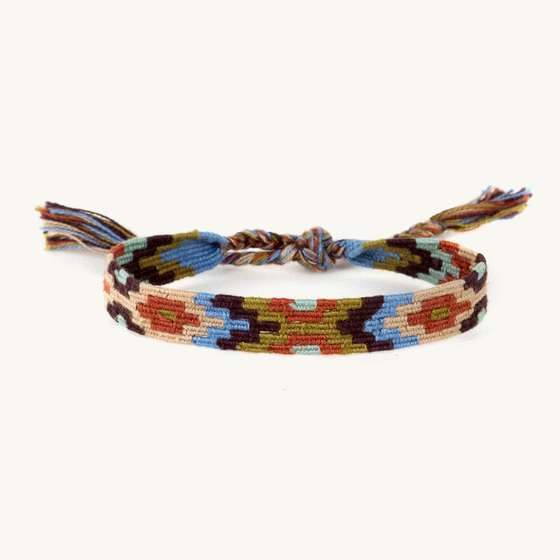 earth tone emma friendship bracelet