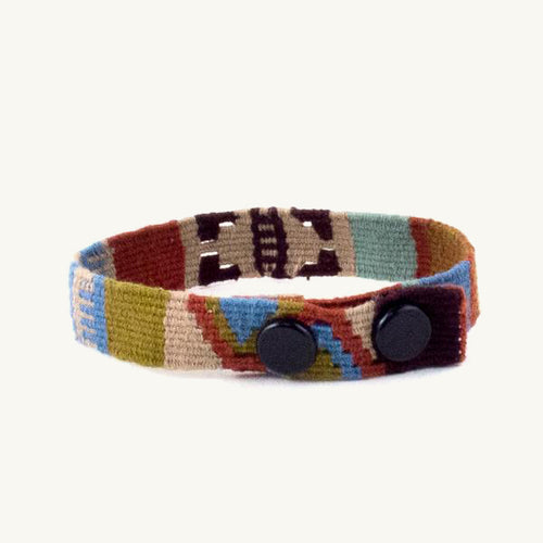 cinta snap bracelet in earthtones