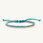 turquoise beaded dream bracelet