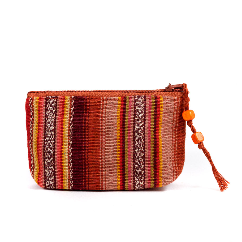 Colorful Striped Coin Purse otono