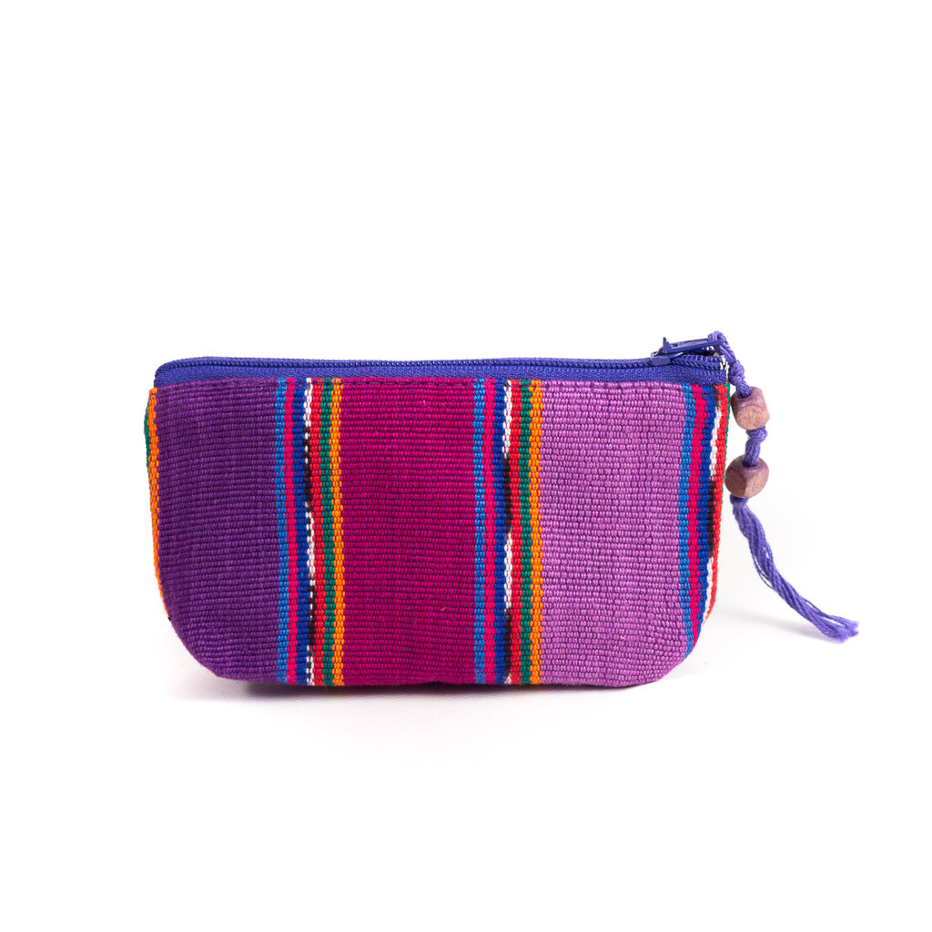 purple zunil coin purse