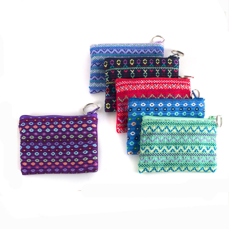 santiago brocade coin purse assortment