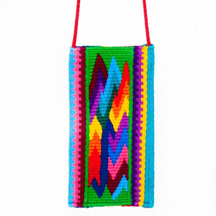 Rainbow Zigzag Eyeglass Case