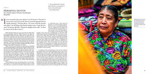 Traditional Weavers of Guatemala: Their Stories, Their Lives