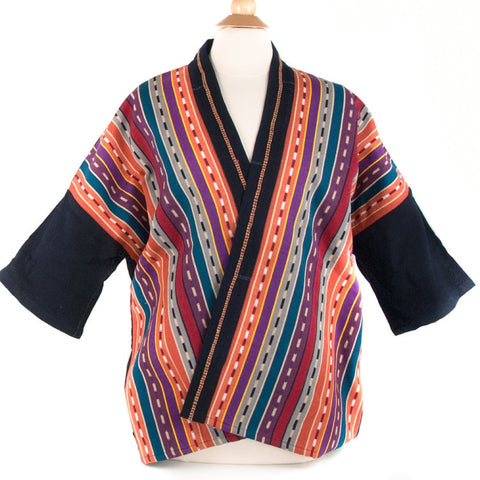 Multicolor Handwoven Jacket