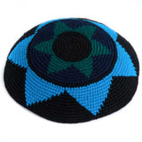 fair trade kippah blues