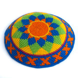 colorful fair trade kippah