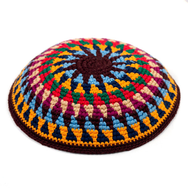 fair trade kippah multicolor