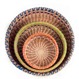 Marisol Pine Needle Baskets - 3 sizes | Mayan Hands
