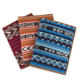 Handwoven Colorful Notebook Portfolio assortment of 3