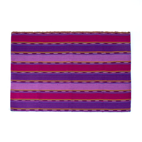 Red Solola Table Runner