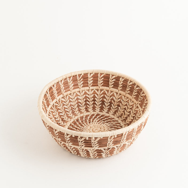 Pine Needle Bowl Basket