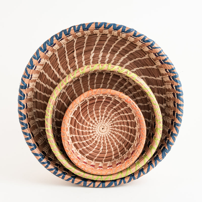Three Marisol Basket sizes