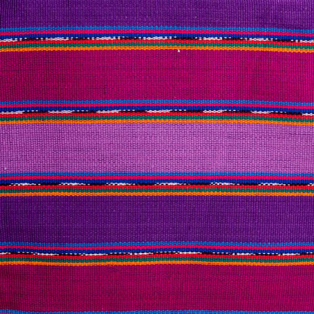 purple stripe potholder detail