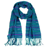 Annabelle Scarf in blues