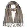 Elsa Scarf gray and beige