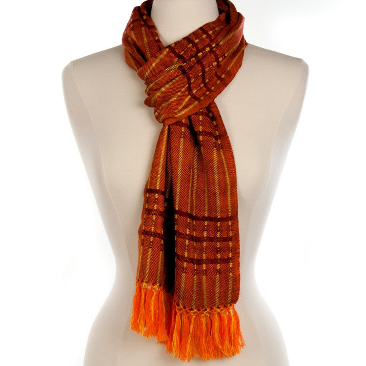 Lucia Scarf - burnt orange