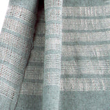 Gauzy Recycled Denim Thread Scarf - detail