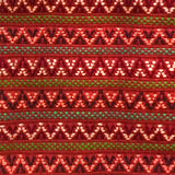 Santiago Brocade Swatch burnt orange