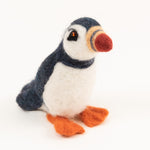 Felted Wool Puffin