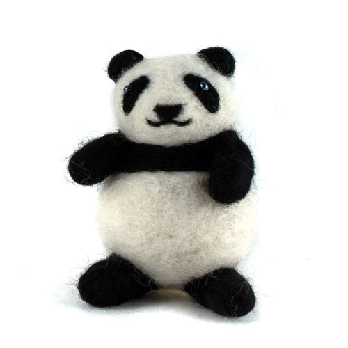 Felted Wool Panda