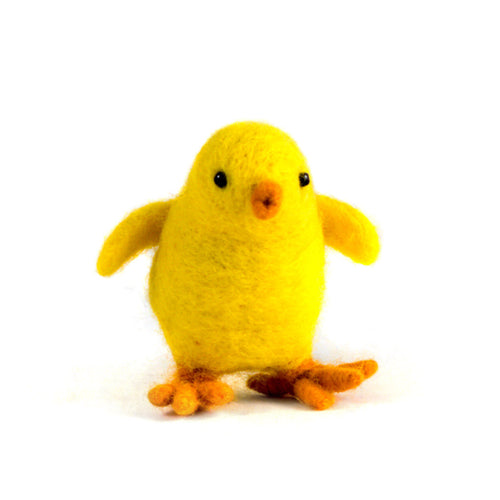 Felted Wool Chick