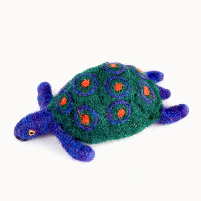Felted Wool Turtle