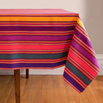 Striped Handwoven tablecloth