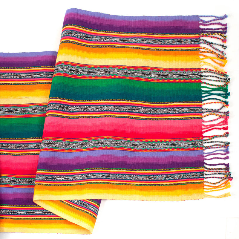 Handwoven Table Runner - shadow jaspe