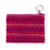 Santiago brocade coin purse - magenta multi