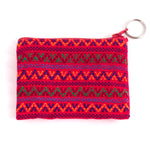 Santiago Brocade coin purse - red multi