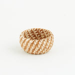 Miniature Pine Needle Bowl Basket